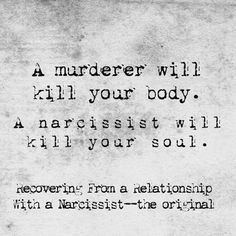 Narcissist Abuse Recovery