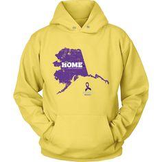 Alaska - Alzheimer's Support Hoodie