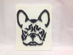 French Bulldog art of string art for home and wall от OneRoots