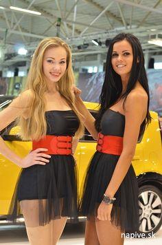 Hostesky, Autosalón 2014 Car Expo, Bratislava, Car Show