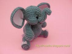 Baby Elephant Amigurumi
