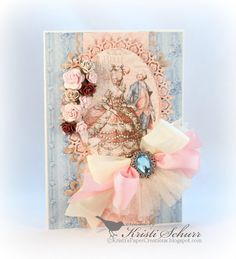 Marie Antoinette Cards Made With Gilded Lily