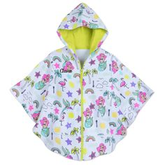 DISNEY STORE FINDING NEMO CUTE HOODED SWIM COVER-UP BRIGHT COLORFUL /& CUTE NWT
