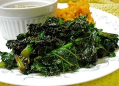 My Favorite Sauteed Kale. Photo by PaulaG. My kids will eat this even!
