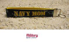 US Navy NWU Mom Key Chain by MilitaryApparelCo on Etsy