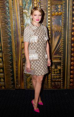 Left Bank Girl: French Girl Style Muse - Lea Seydoux