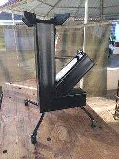 Rocket Stove Design, Diy Rocket Stove, Rocket Stoves, Welded Furniture, Twig Furniture, Welded Metal Projects, Welding Projects, Bbq Grill, Barbecue