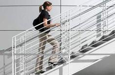 substituir o elevador pelas escadas é uma maneira de perder peso rápido