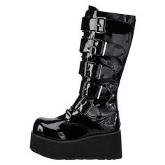Demonia by Pleaser Men's Trashville-518 Goth Boot: Amazon.ca: Shoes &... ($149) ❤ liked on Polyvore featuring men's fashion, men's shoes and mens shoes