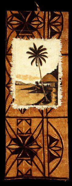 Siapo (tapa cloth) | - Museum of New Zealand Te Papa Tongarewa
