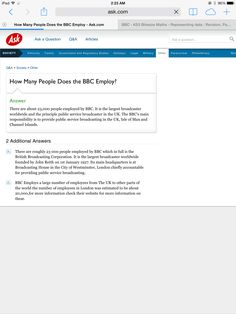 How many people are employed by BBC  ?   http://www.ask.com/question/how-many-people-does-the-bbc-employ
