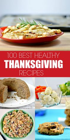100 Best Healthy Thanksgiving Recipes | WIN-WINFOOD.com #cleaneating #healthy #vegan recipes with tons of #glutenfree #paleo and even #raw options for a lighter holiday!