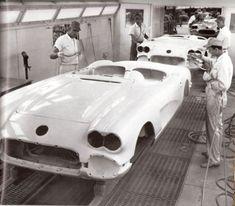 1958 Corvette Painting