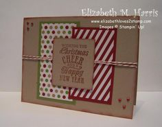 Christmas Message by FLMommyof2 - Cards and Paper Crafts at Splitcoaststampers