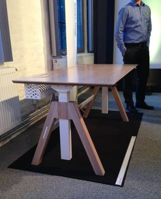office table (Prototype) for Aarsland Furniture Factory - Norway Furniture Factory, Office Table, Norway, Furniture Design, Dining Table, Home Decor, Dining Room Table, Decoration Home, Room Decor