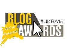 Blogging. A great way to be creative :) #UKBA15