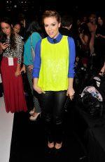Alyssa Milano At Project Runway Spring 2014 Fashion Show