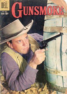 Cover of Gunsmoke #16 comic, 1959