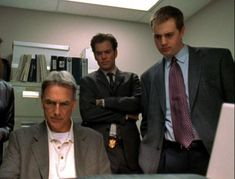 Mark Harmon, Michael Weatherly and Sean Murray - NCIS