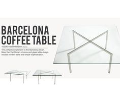 Barcelona Coffee Table