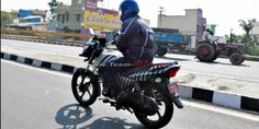 TVS Victor New Model 2015 Launch Soon [Pics & Details] http://www.carblogindia.com/tvs-victor-new-model-2015-spotted-testing/