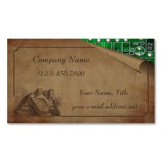Old and New Business Card