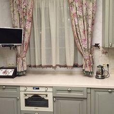There are different kinds of drapes with different concepts, for example in this photo you can make your preferred cooking area drapes window curtains curtains curtains inspirations curtains ideas Modern Curtains, Drapes Curtains, Rideaux Du Bow Window, Curtain Inspiration, Custom Drapes, Curtain Designs, Kitchen Curtains, Home Look, Window Coverings