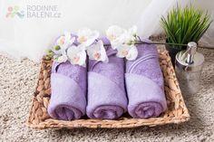 Froté ručník ELEN - fialová 50x100 cm