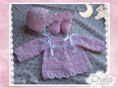 Conjunto rosa bebé