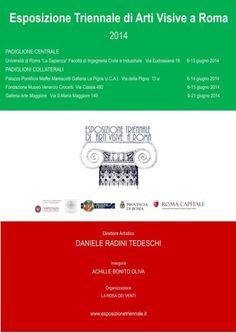 L'artista lametino Francesco Villella all'Esposizione Triennale di Roma