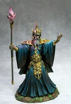 Evil Mage - Visions in Fantasy - Miniature Lines dark sword