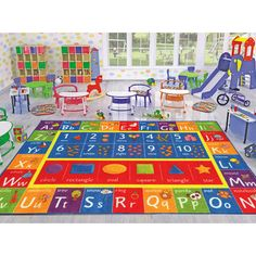 Kev & Cooper Playtime Machine Woven Multi-Colored Indoor/Outdoor Area Rug Rug Size: