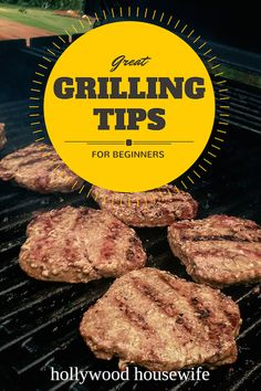 Great Grilling Tips for Beginners. Don't be scared of grilling! There's just one or two big secrets that will make everyone think you're a grill master. (And it's easier than you think!)