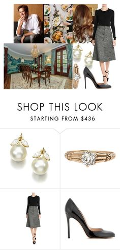 """Having Thanksgiving dinner with the Levin family"" by swedish-princess ❤ liked on Polyvore featuring COS and Gianvito Rossi"