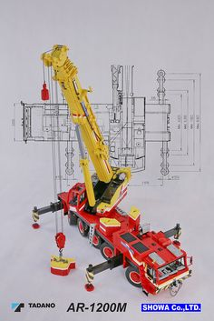 Tadano AR-1200M Mobile Crane 04 | by Engineering with ABS Cool! - Ander