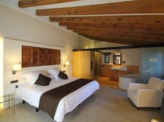 Can Cuch Hotel****s - Located in the Parc Natural del Montseny, just 50 minutes from Barcelona, this luxurious hotel occupies a former 10th century Catalan farmhouse #BCNmoltmes #barcelonahotels