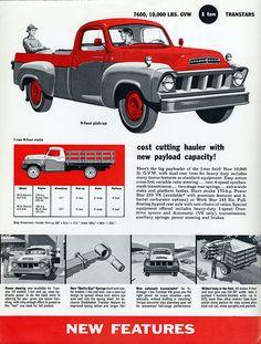 1957 Studebaker Transtar 1 Ton 9-Foot Pickup & Stake Truck | por aldenjewell
