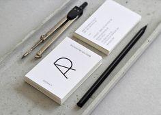 Logo and business card   A Panzer – Büro für Architektur