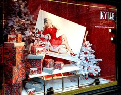Liberty - Kylie Minogue Text Santa - Retail Focus - Retail Interior Design and Visual Merchandising