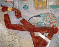 Detail, Karnak temple, Luxor, Egypt
