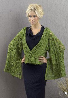 The Tokyo Jacket - free crochet pattern designed by Vashti Bracha