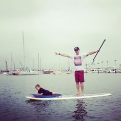 Fun for the whole family! #sup #padde #surf #paddlesurfwarehouse #water #sport #fitness #family