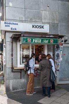 Büdchen am Eck - die kleinste Bude in Bochum
