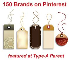 150 brands on pinterest