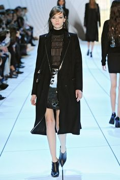 And for the lady who prefers to keep her sensuality slightly under wraps, there were some smart suits—with a little added sparkle underneath.   - HarpersBAZAAR.com