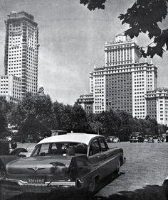 Imágenes del viejo Madrid Foto Madrid, Spain, Black And White, Plaza, Villa, City, San Bernardo, Saint Christopher, Vintage Postcards