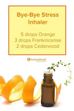 This essential oil inhaler is great for everyday use. Tension, both physical and emotional, just seems to melt away under Orange's sunny glow.  Learn how to make an aromatherapy inhaler here: https://youtu.be/Wvk1jp4Rwrc: