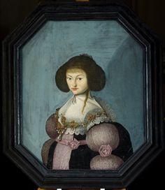 Porträtt, kvinna, Målning, Porträtt