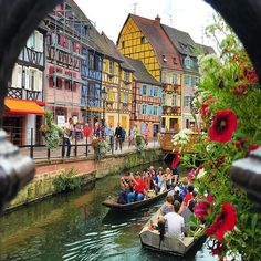 🌎France:Colmar, Alsace - France ❤️