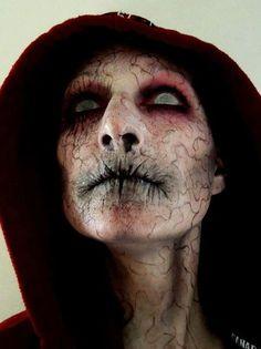 25 de las más terroríficas ideas de maquillaje